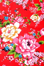 Classical flower pattern picture