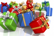 Color gift box picture download