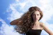 Curly hair beautiful HD pictures