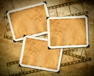 Download HD yellow photo frame picture