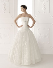 European and American fashion wedding dresses pictures