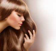 European hair beauty picture