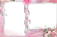 Flower picture frame material download