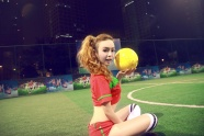 Football baby Pei Zi Yee photo picture