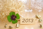 Four-leaved clover card HD pictures