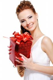 Glamour model gifts