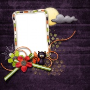 Halloween photo frames HD pictures