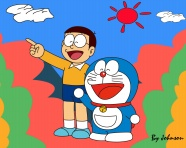 HD cartoon Doraemon cat pictures download