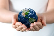Holding pictures of the Earth download