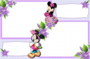 Mickey Mouse backgrounds photo frame picture material