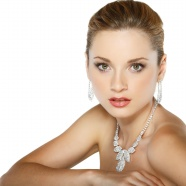 Platinum necklace beautiful HD pictures download