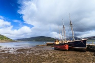 Seaside landscapes sailing HD pictures