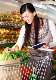 Supermarket shopping Lady picture downloads