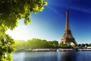 The Eiffel Tower in Paris, France pictures