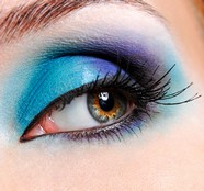 Two-color eye shadow girls pictures download