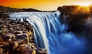 Waterfall landscape beautiful pictures