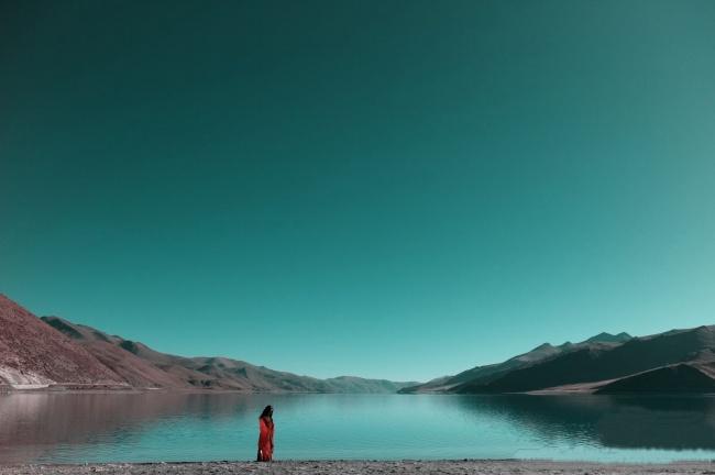 Tibetan landscape pictures