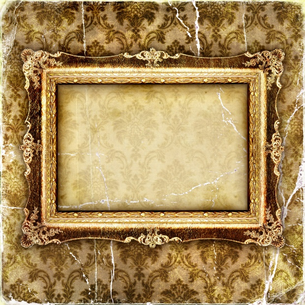 Vintage picture frame material download