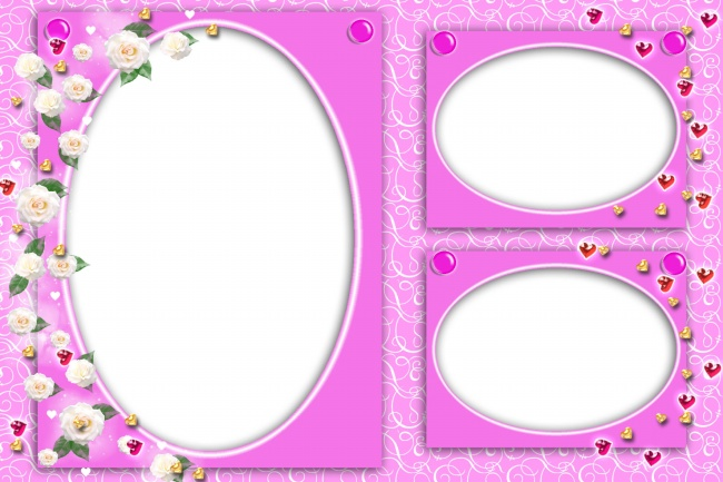 White flower frame border pictures