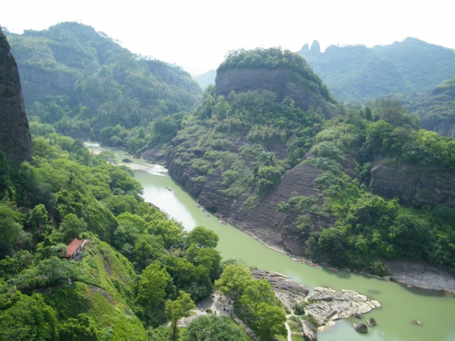 Wuyishan scenery pictures