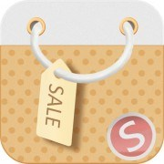 Business Sale psd icon