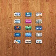 Bank Card icons psd