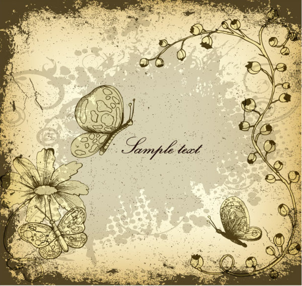 Calendar Art For Powerpoint : Elegant decorative pattern background art vector free