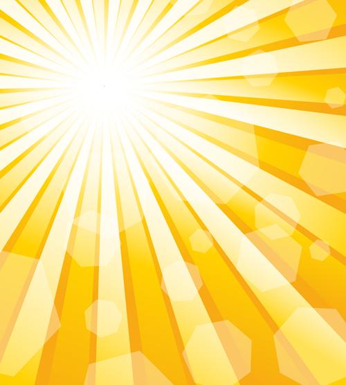 dazzle sunshine background vector 01