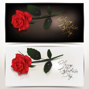 Valentine Day Romantic banner vector 01