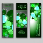 Shiny Vertical banner vector 03