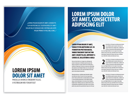 Commonly Business Brochure Cover Design Vector 01 Free