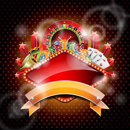 Casino Backgrounds Vector 05 Free Download