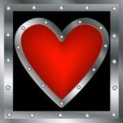 Set of Unusual Heart design elements vector 01