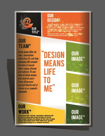 modern flyers and brochure design vector 05 free download