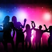 Party People silhouette vector 04