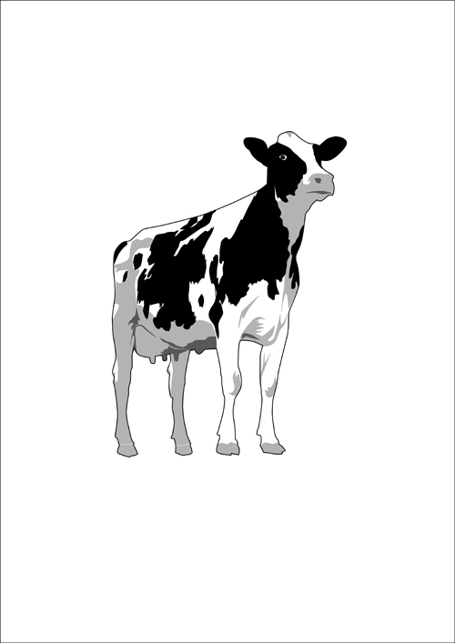free clip art dairy cow - photo #44