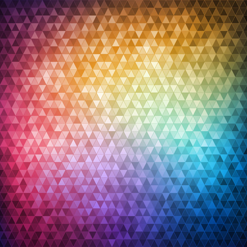 mosaic neon backgrounds vector 03