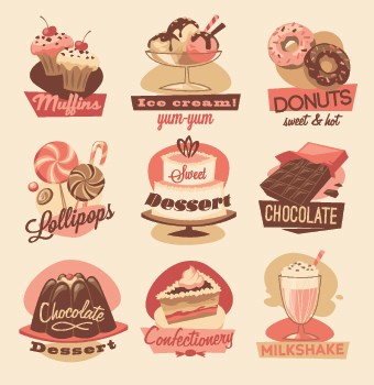 Vintage Food Logo Vector 01 Free Download