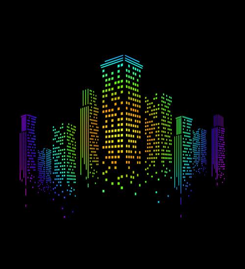 creative city vector backgrounds 02