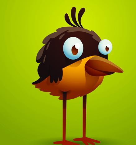 Set Of Cartoon Funny Bird Vector 03 For Free Download Free Vector