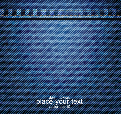 The Jeans fabric vector backgrounds art 02 is a vector illustration ...