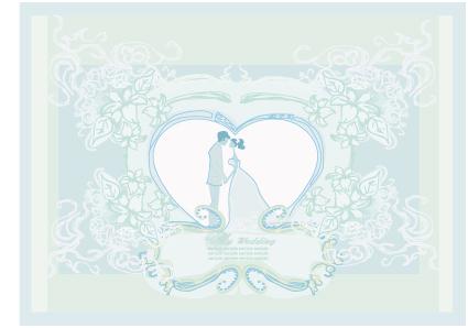 Creative Wedding Backgrounds Design Vector 04 Free Download