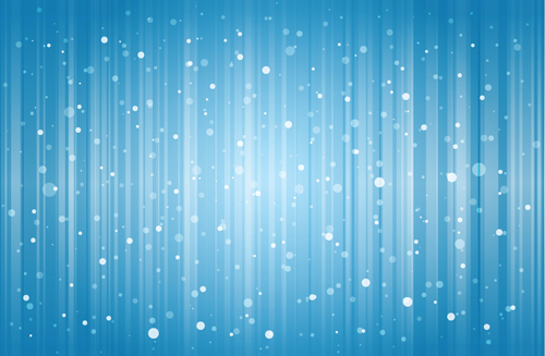 Snow Background For Powerpoint - Template
