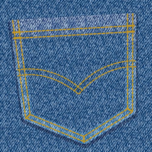 Vector Jeans Backgrounds art 01