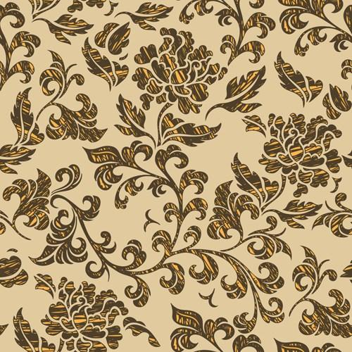 Luxury Seamless pattern vector 03