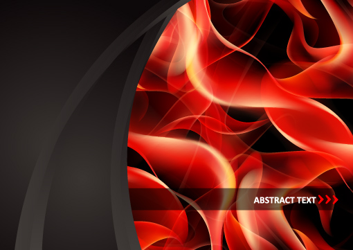 Abstract Flame vector backgrounds art 04
