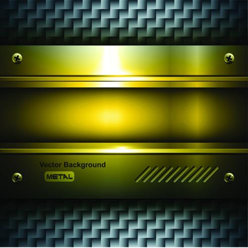 luxurious Metal Vector Backgrounds 04