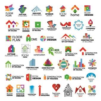 modern logo design vector 05 - Modern Logos Design Ideas