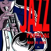Jazz poster publicize template vector 04