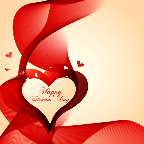 Valentine Day Love Backgrounds Vector 09 Free Download